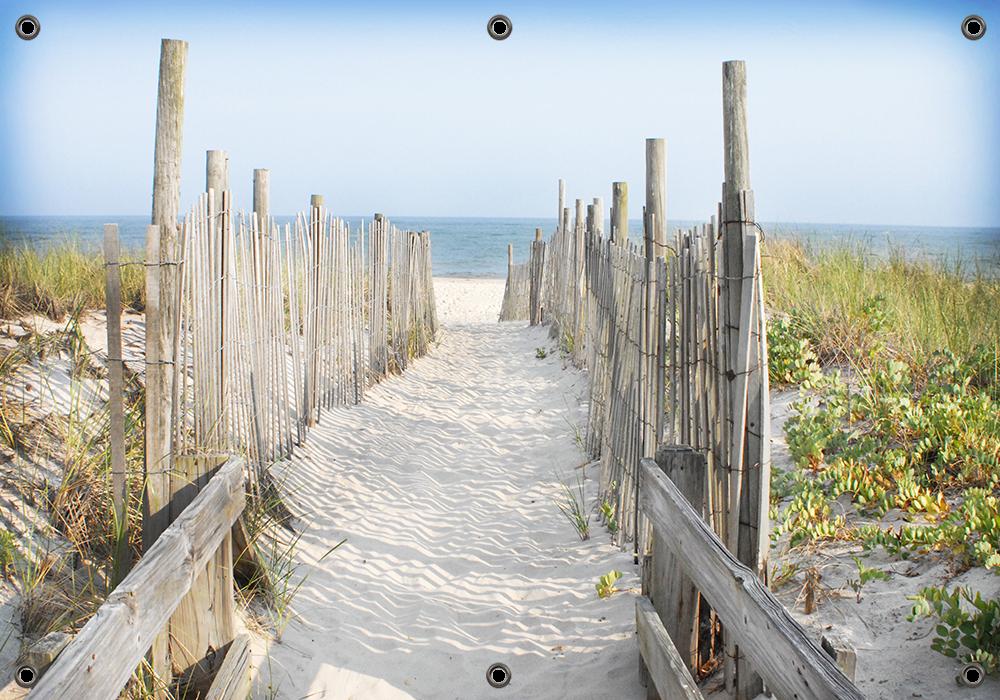 Tuinposter strand en duinen 70x100