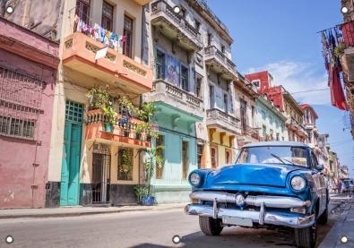 Tuinposter Cuba 70x100
