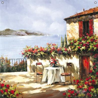 Tuinposter Toscane 80x80