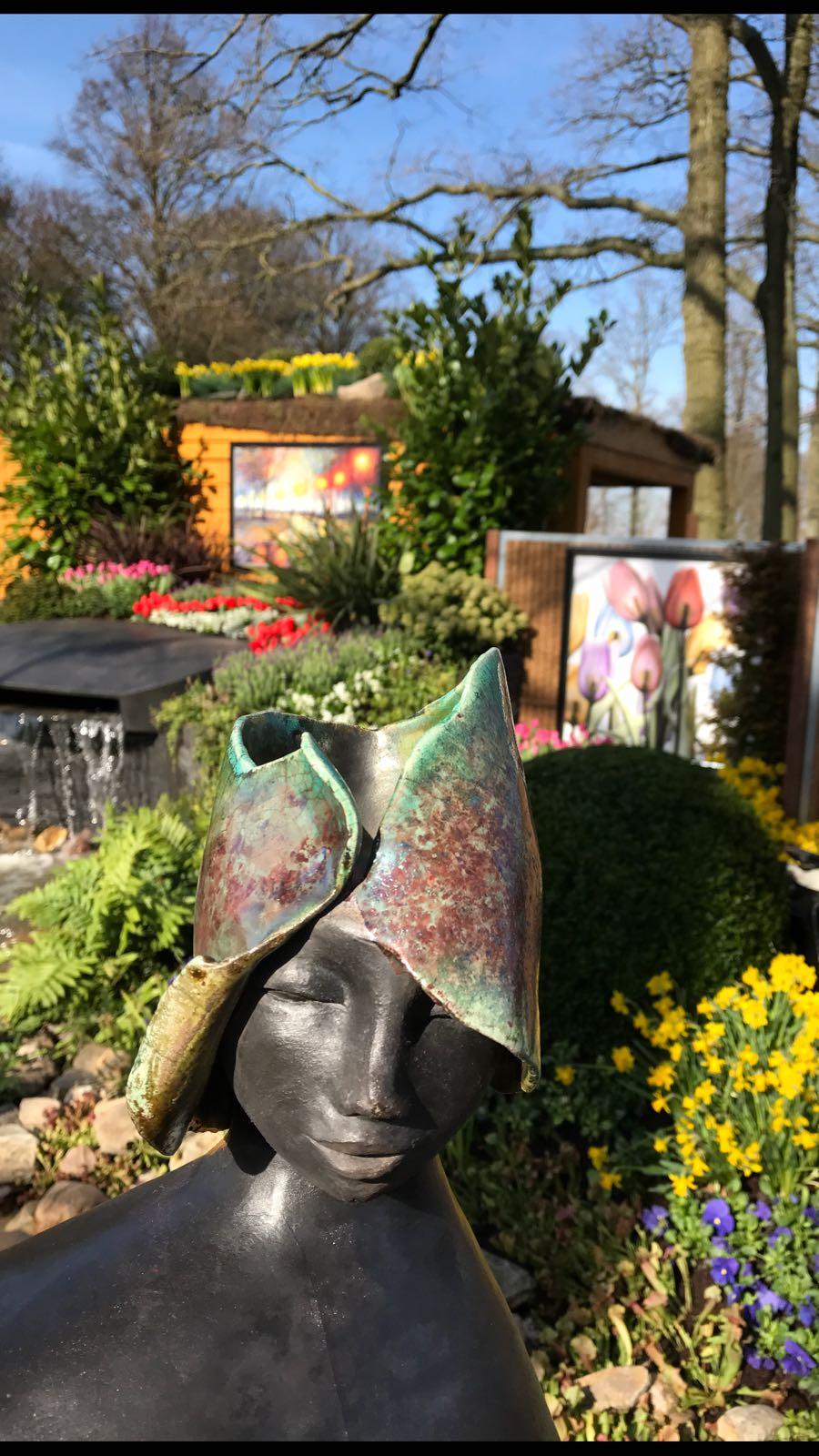 Tuinposter buiten galerie
