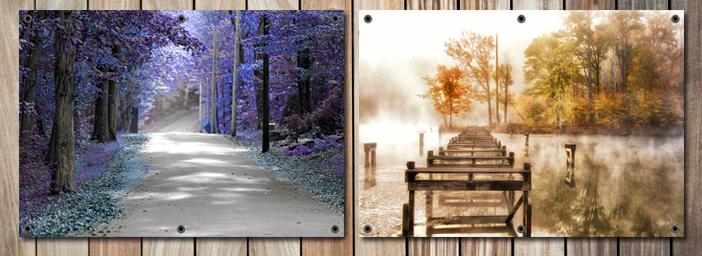 Fotokunst tuinposters